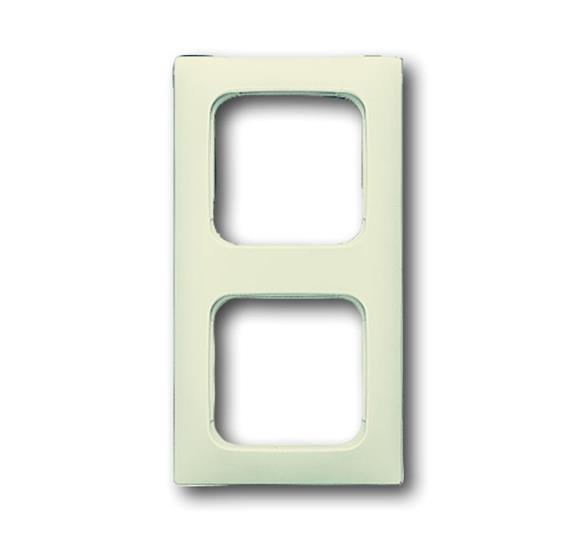 Рамка 2-постовая для кабель-каналов, Busch-Duro 2000 SI, слоновая кость 1725-0-1490 ABB
