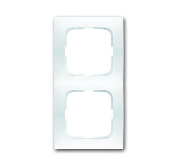 Рамка 2-постовая, серия spring, цвет альпийский белый 1725-0-1475 ABB