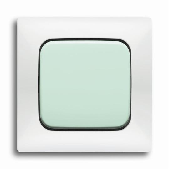 Рамка 4-постовая, серия spring, цвет слоновая кость 1725-0-1472 ABB
