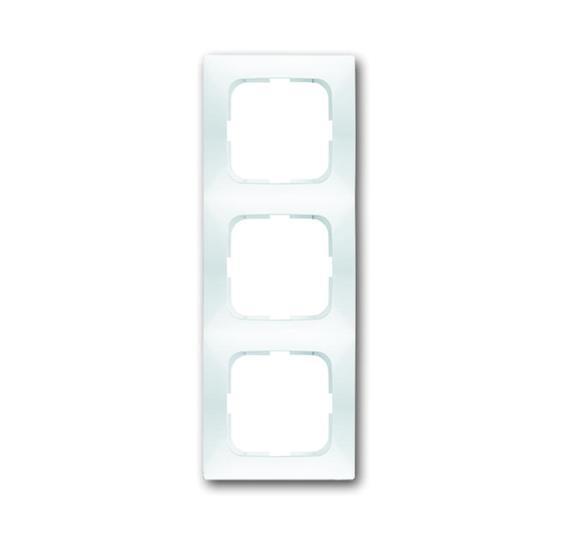 Рамка 3-постовая, серия spring, цвет альпийский белый 1725-0-1476 ABB