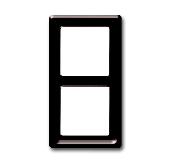Рамка 2-постовая, серия Allwetter 44, цвет коричневый 1730-0-0277 ABB