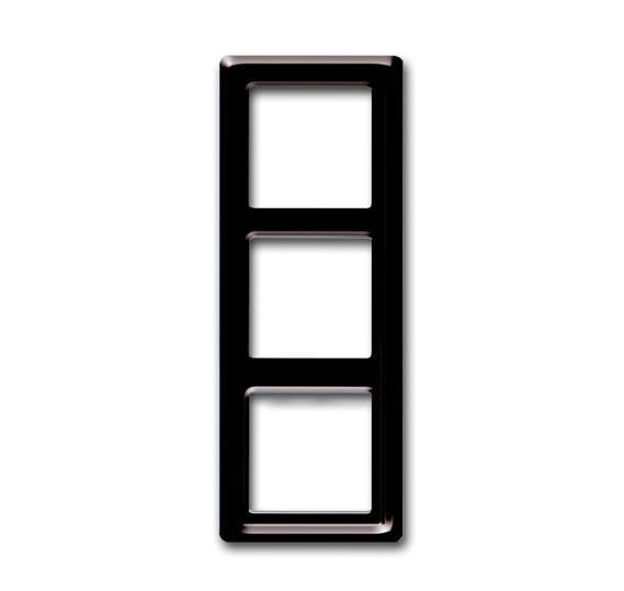 Рамка 3-постовая, серия Allwetter 44, цвет коричневый 1730-0-0279 ABB
