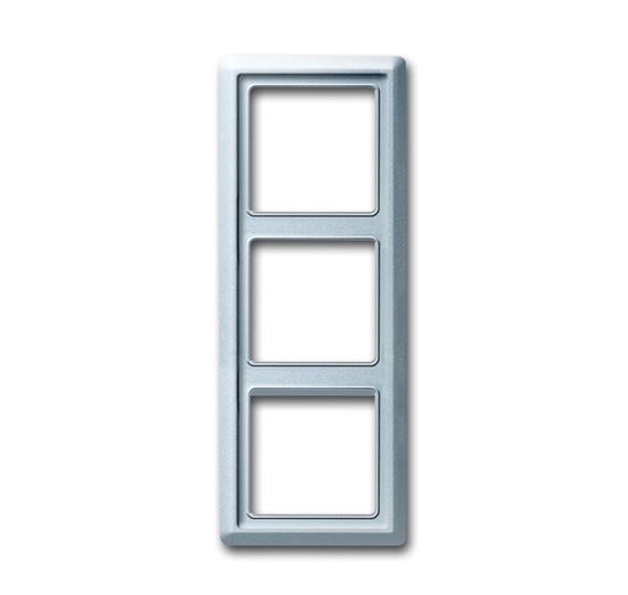 Рамка 3-постовая, серия Allwetter 44, цвет серебристо-алюминиевый 1730-0-0280 ABB