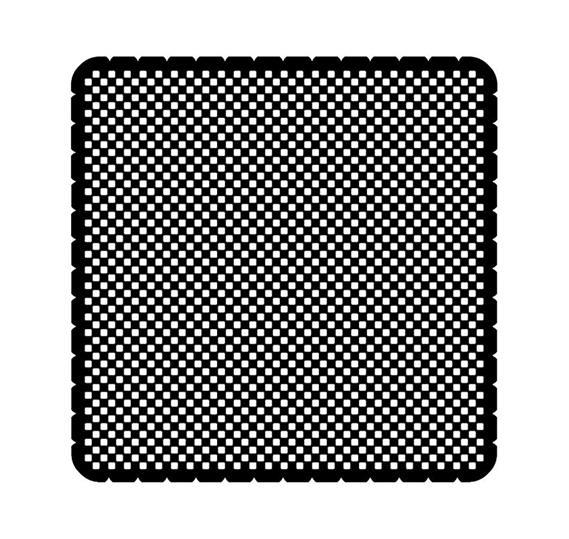 Вкладыш декоративный iceLight для 2068/1х, рисунок квадратный 1714-0-0301 ABB