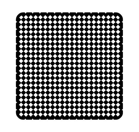 Вкладыш декоративный iceLight для 2068/1х, рисунок решётка 1714-0-0304 ABB