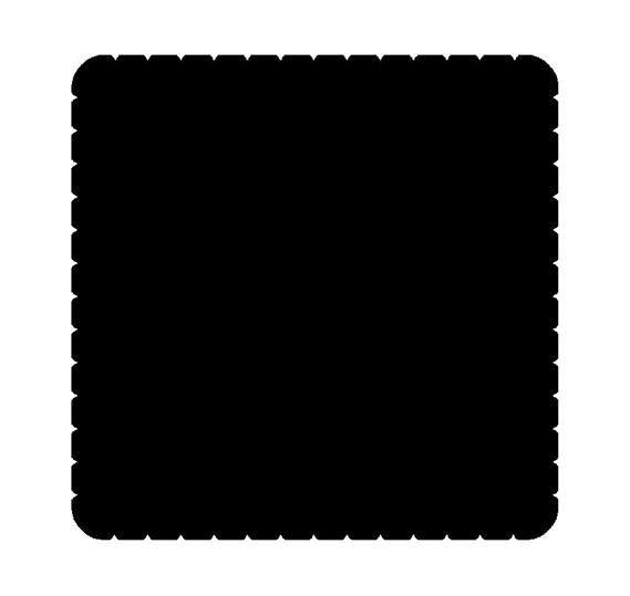 Вкладыш декоративный iceLight для 2068/1х, рисунок заглушка 1714-0-0306 ABB