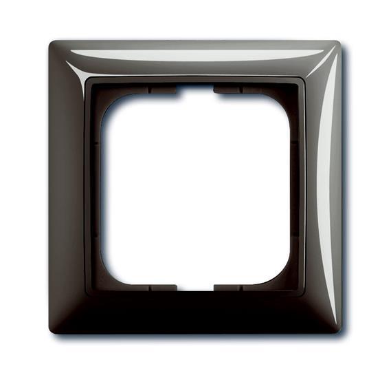 Рамка 1-постовая, серия Basic 55, цвет entrée-grey 1725-0-1531 ABB