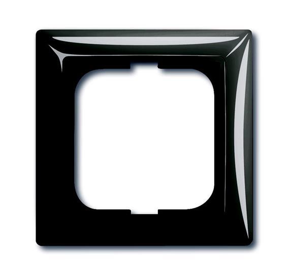 Рамка 1-постовая, серия Basic 55, цвет château-black 1725-0-1506 ABB