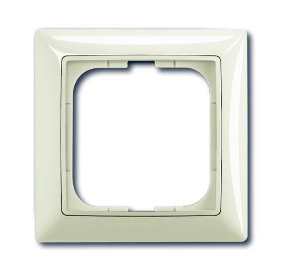 Рамка 1-постовая, серия Basic 55, цвет chalet-white 1725-0-1511 ABB