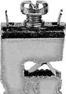 Крепление на шину 5 кабеля 1.5-35кв.мм 50шт ZK81P50 ABB