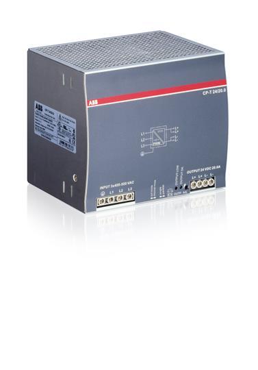 Блок питания трёхфазный CP-T 24/20.0 1SVR427056R0000 ABB