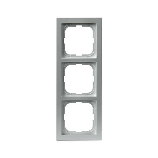 Рамка 3-постовая, серия Impressivo, алюминий 1723F85-83 ABB