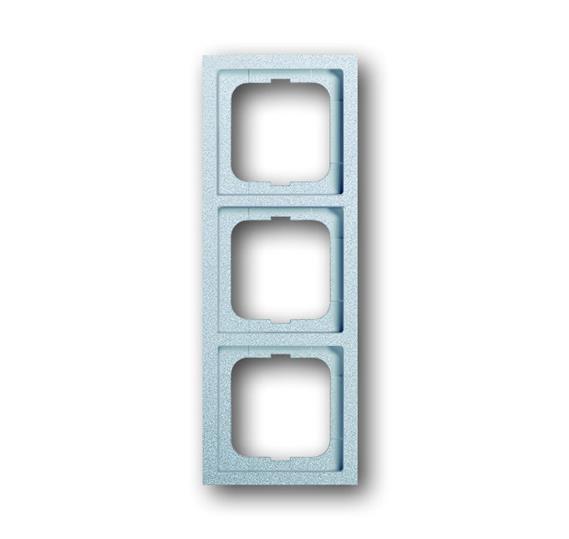 Рамка 3-постовая, серия, серия solo/future, цвет linear, цвет серебристо-алюминиевый 1754-0-4308 ABB