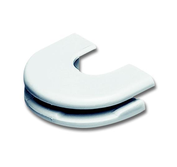 Ввод для кабеля, серия solo/future, цвет альпийский белый 1761-0-1500 ABB
