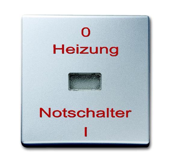 Клавиша для механизма 1-клавишного выключателя/переключателя/кнопки, с красной линзой, с маркировкой 1731-0-1957 ABB