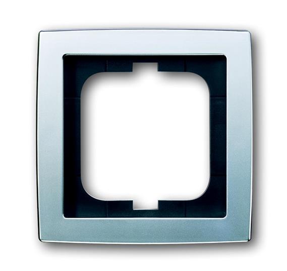 Рамка 1-постовая, серия solo/future, матовый хром 1754-0-4104 ABB