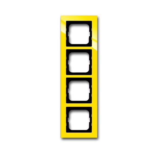 Рамка 5-постовая, серия axcent, цвет жёлтый 1754-0-4349 ABB