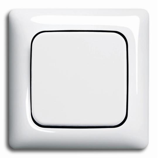 Рамка 1-постовая, серия Reflex SI, цвет альпийский белый 1725-0-1464 ABB