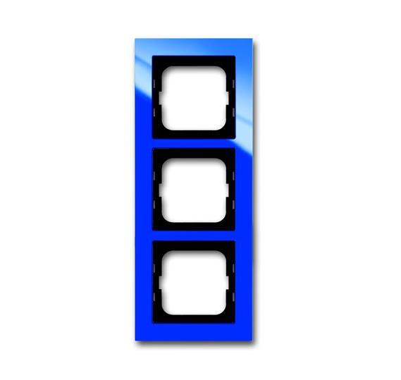 Рамка 3-постовая, серия axcent, цвет синий 1754-0-4345 ABB