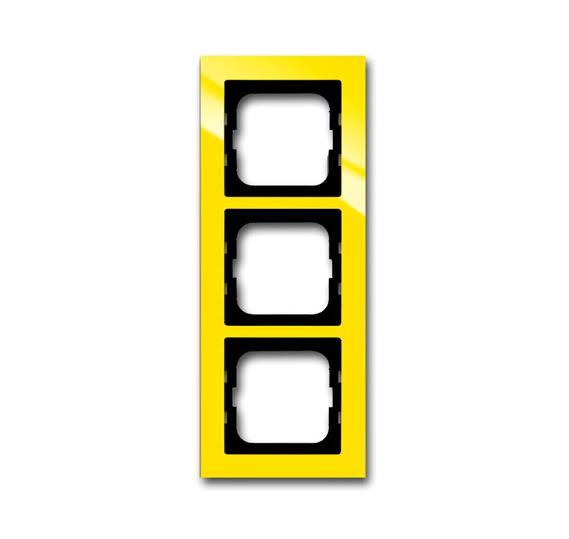 Рамка 3-постовая, серия axcent, цвет жёлтый 1754-0-4336 ABB