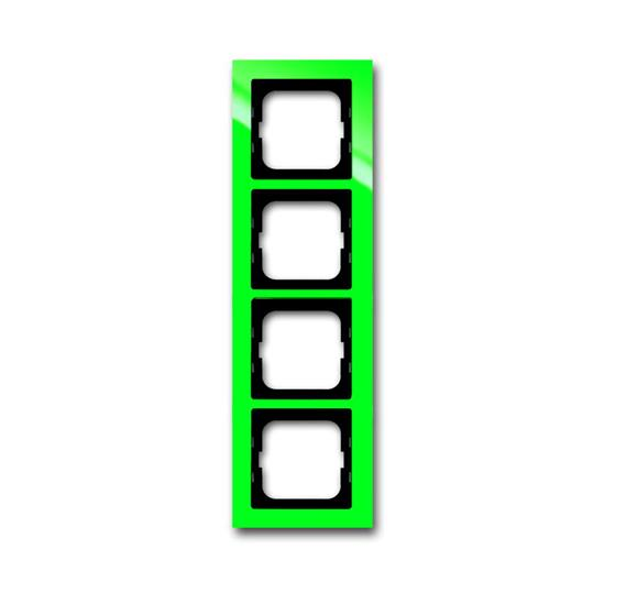 Рамка 4-постовая, серия axcent, цвет зелёный 1754-0-4350 ABB