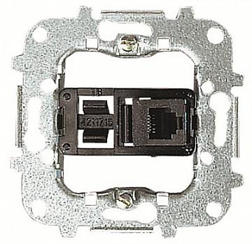 Розетка телекоммуникационная на 8 контактов, тип RJ45, категория 3s 8117.3 ABB
