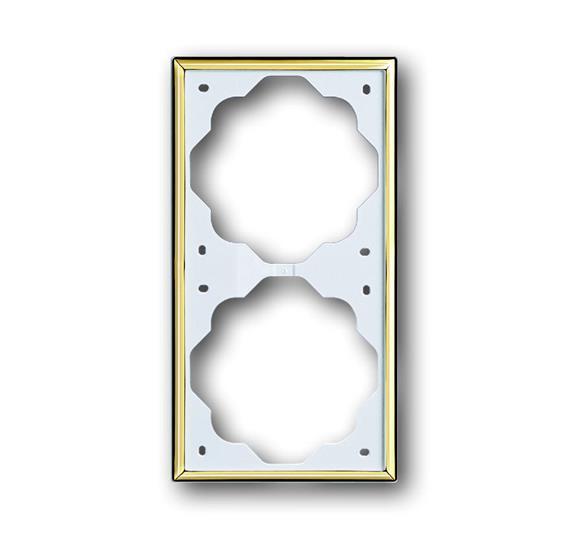 Рамка 2-постовая, серия impuls, цвет золото 1754-0-3542 ABB
