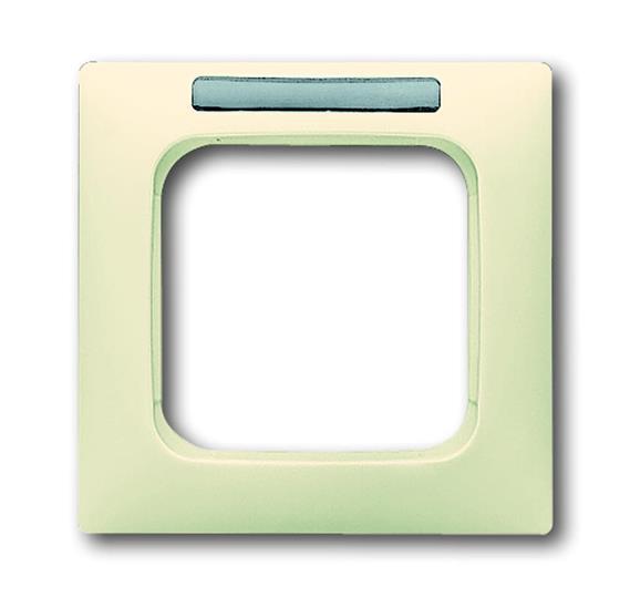 Рамка 1-постовая, с полем для надписи, серия Busch-Duro 2000 SI linear, цвет слоновая кость 1754-0-4093 ABB