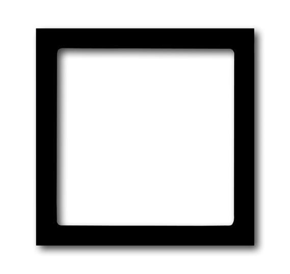 Плата центральная (накладка) для механизма светоиндикатора 2062 U, серия solo/future, цвет антрацит 1731-0-1921 ABB