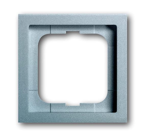 Рамка 1-постовая, серия, серия solo/future, цвет linear, цвет серебристо-алюминиевый 1754-0-4301 ABB