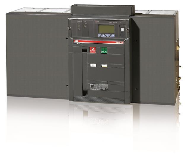 Выключатель автоматический стационарный E6V 4000 PR123/P-LSI In=4000A 3p F HR 1SDA057078R1 ABB