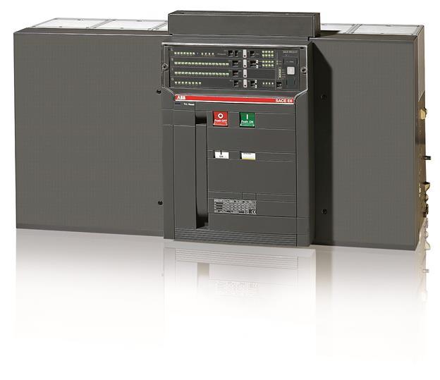 Выключатель автоматический стационарный E6H 5000 PR121/P-LSI In=5000A 3p F HR 1SDA056977R1 ABB