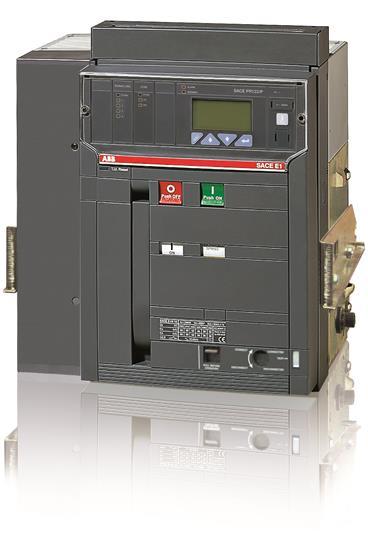 Выключатель автоматический выкатной E1N 800 PR122/P-LSIRc In=800A 4p W MP 1SDA058583R1 ABB
