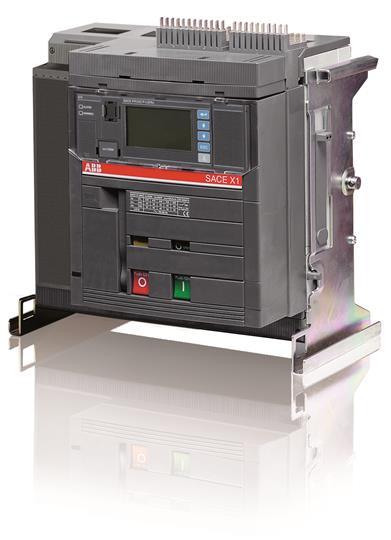 Выключатель автоматический выкатной X1L 1000 PR332/P LSIG In=1000A 4p W MP 1SDA062457R1 ABB