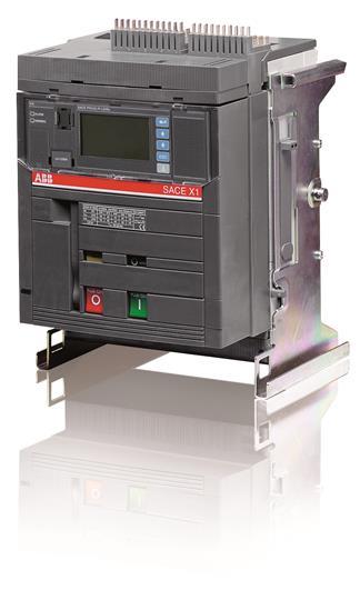 Выключатель автоматический выкатной X1N 1000 PR333/P LSIG In=1000A 3p W MP 1SDA062415R1 ABB