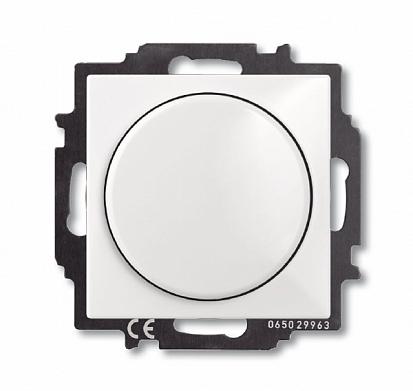 Светорегулятор Busch-Dimmer с центральной платой, альпийский бел ый 6515-0-0842 ABB