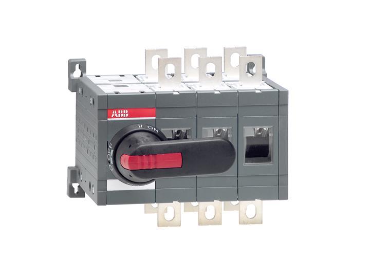 Реверсивный рубильник OT400E03CP до 400А 3-полюсный 1SCA022771R8500 ABB