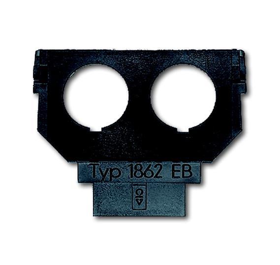 Суппорт (цоколь) для 2-х диодных разъёмов 1764-0-0133 ABB