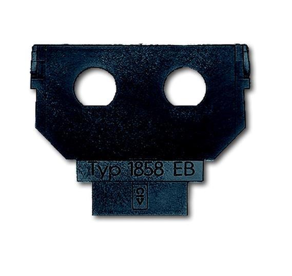 Суппорт (цоколь) для 2-х штекеров BNC 1764-0-0091 ABB