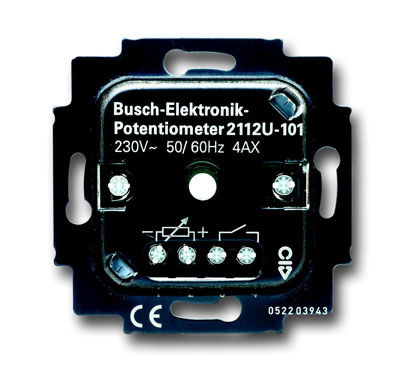 Механизм светорегулятора для люминесцентных ламп с ЭПРА (потенциометер), 0/1-10 В, 50мА, 700 Вт 6599-0-2873 ABB