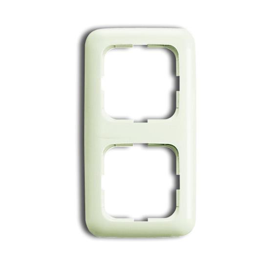 Рамка 2 поста Duro 2000 SI белый 1725-0-0555 ABB