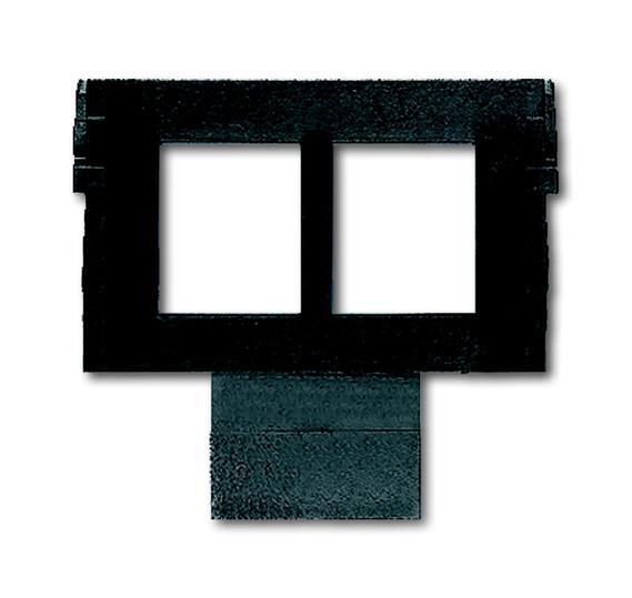 Суппорт (цоколь) для 2-х экранированных разъёмов AMP кат. 5 (8 пол.) 1764-0-0315 ABB