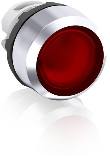 Кнопка MP2-21R красная (только корпус) с фиксацией с подсветкой 1SFA611101R2101 ABB
