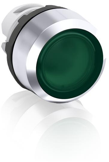 Кнопка MP2-21G зеленая (только корпус) с фиксацией с подсветкой 1SFA611101R2102 ABB