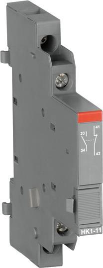 Боковые доп.контакты 2НЗ HK1-02 для автоматов типа MS116 1SAM201902R1003 ABB