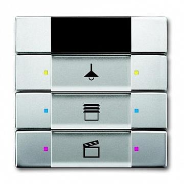 6129/01-866-500 Сенсор управления с ИК-приемником, 3/6-кл., нержавеющая сталь 6135-0-0162 ABB