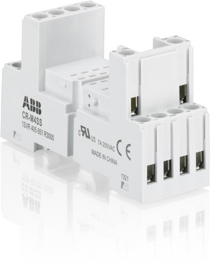 Цоколь CR-M4SS (стандартный) для реле CR-M 2/4ПК ABB 1SVR405651R3000 ABB