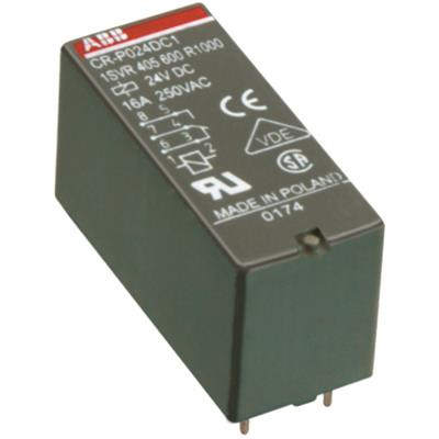 Реле CR-P110AC2 110B AC 2ПК (8А) 1SVR405601R7000 ABB
