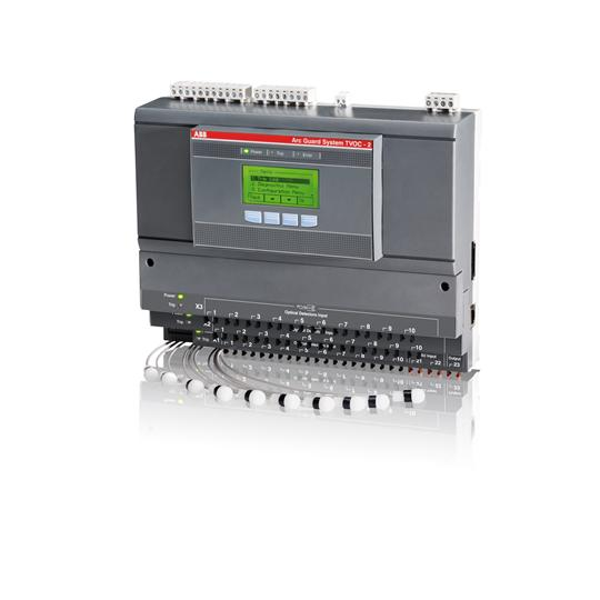 Модуль контроля дуги TVOC-2-240 напряжение питания 100-250В AC/DC 1SFA664001R1001 ABB