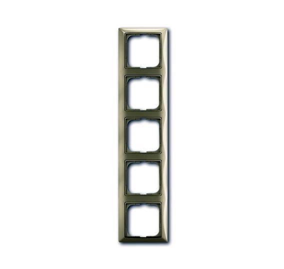Рамка 5-постовая, серия Basic 55, цвет maison-beige 1725-0-1530 ABB